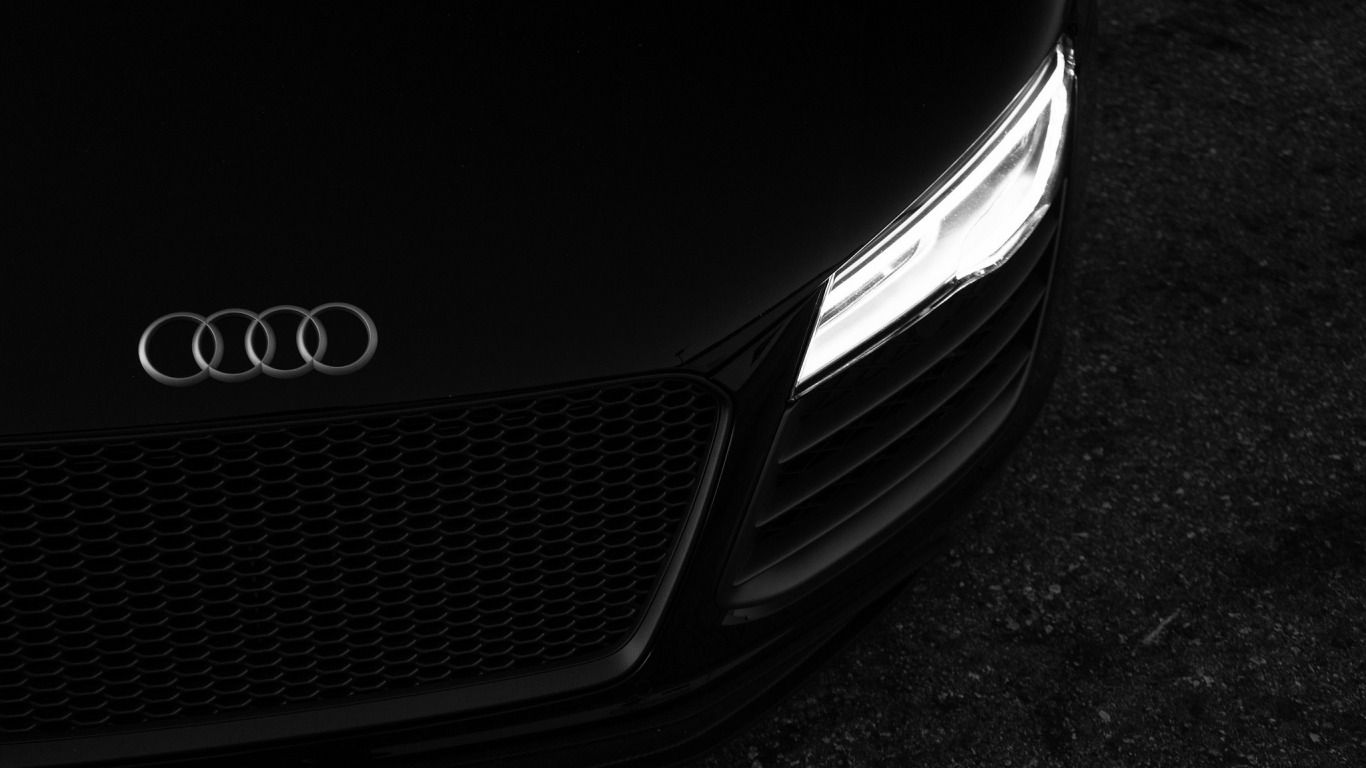 Download Wallpaper Machine Black Audi R8 Car Section Audi In Resolution 1366x768 Oboi Dlya Notbuka Oboi Risunki Pejzazhej