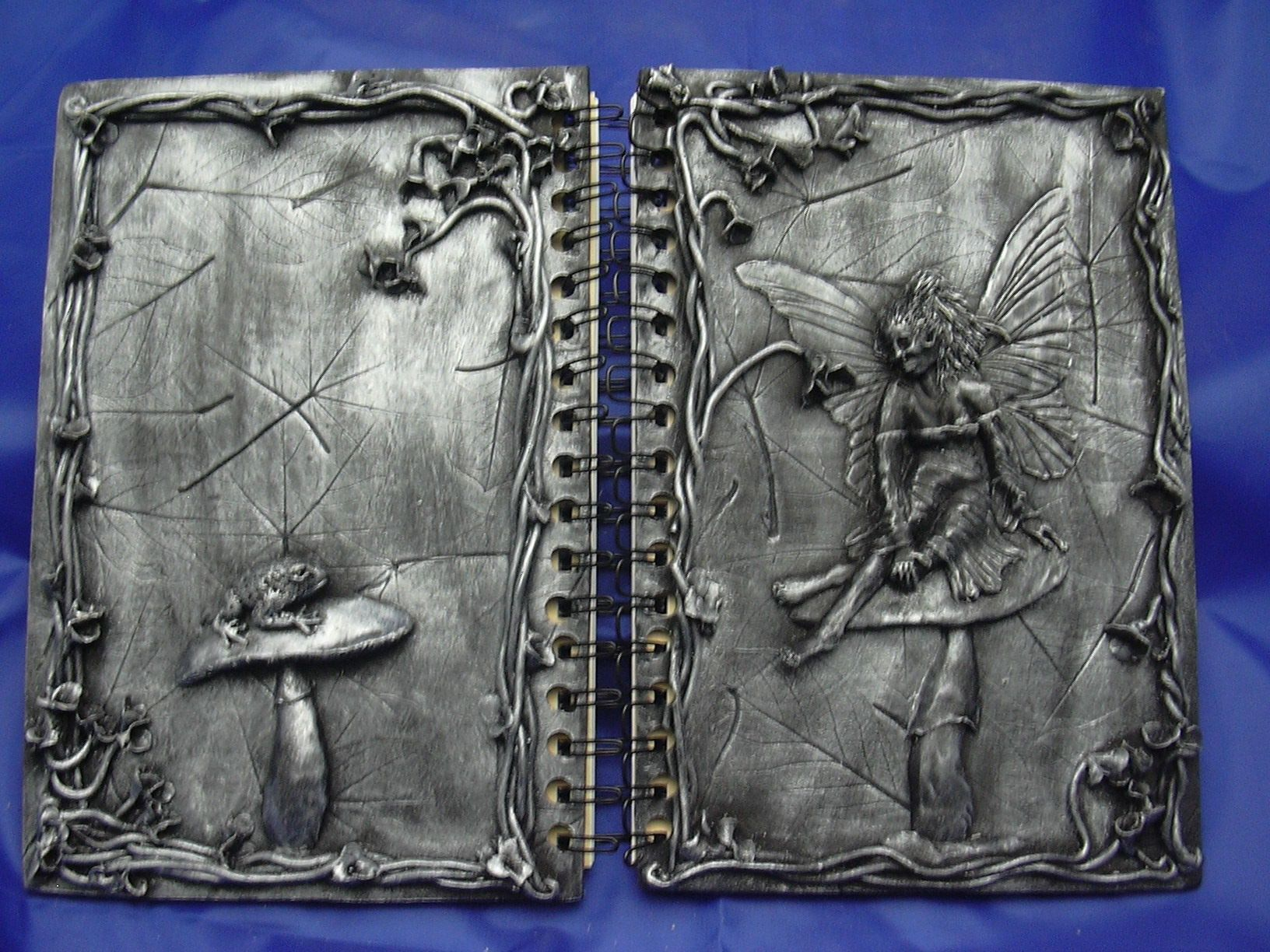 Silver Fairy Journal by The Goblin Trader. $22.00, via Etsy.