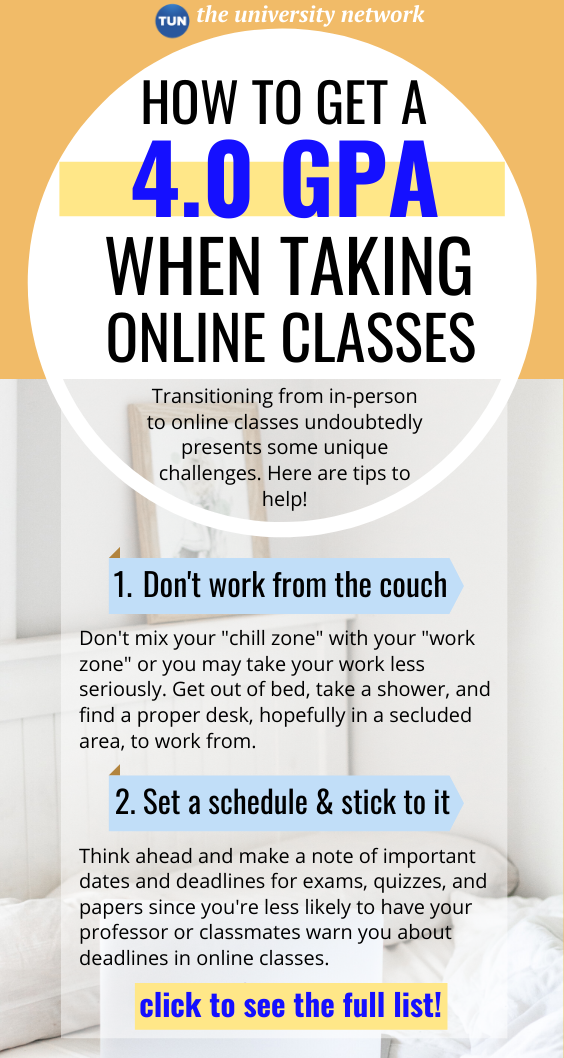 How To Ace Your Online Classes, Amid Coronavirus | The University Network