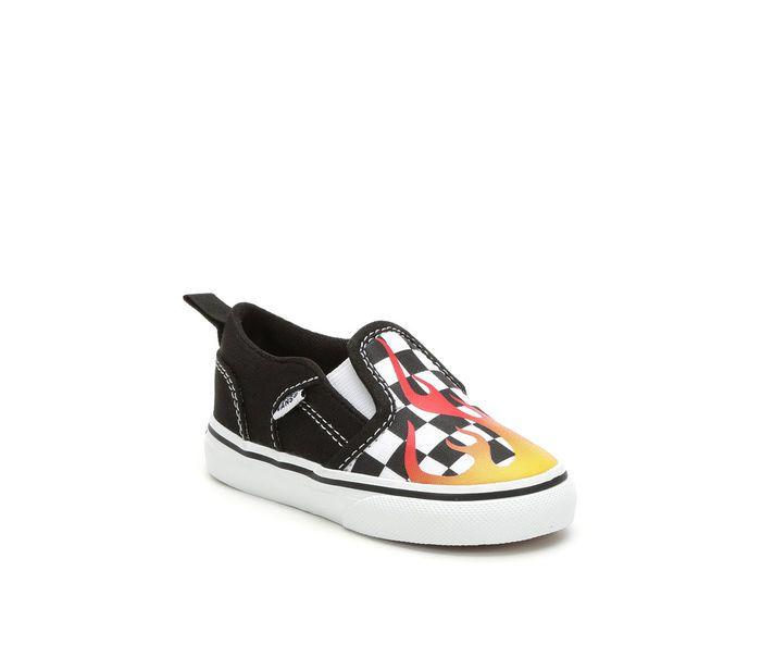 d9e423e051e Kids  Vans Infant   Toddler Asher V Slip-On Skate Shoes