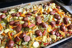 Sausage Sheet Pan Supper