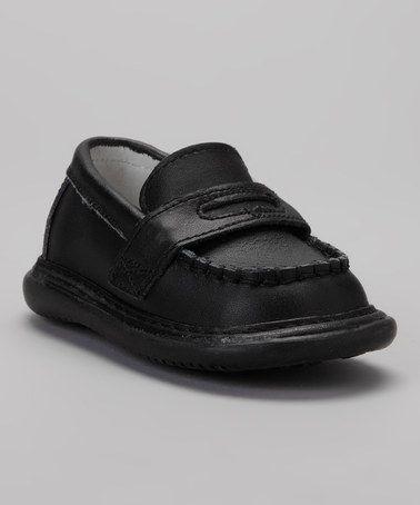 Another great find on #zulily! Black Squeaker Loafer by Wee Squeak #zulilyfinds