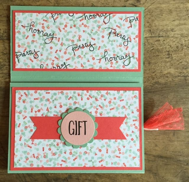 Stampin Up, SU, Birthday Bouguet, K.J.E.G. , B.Y.O.P. , Perfectly Wrapped, Garden in Bloom, Endless Birthday Wishes