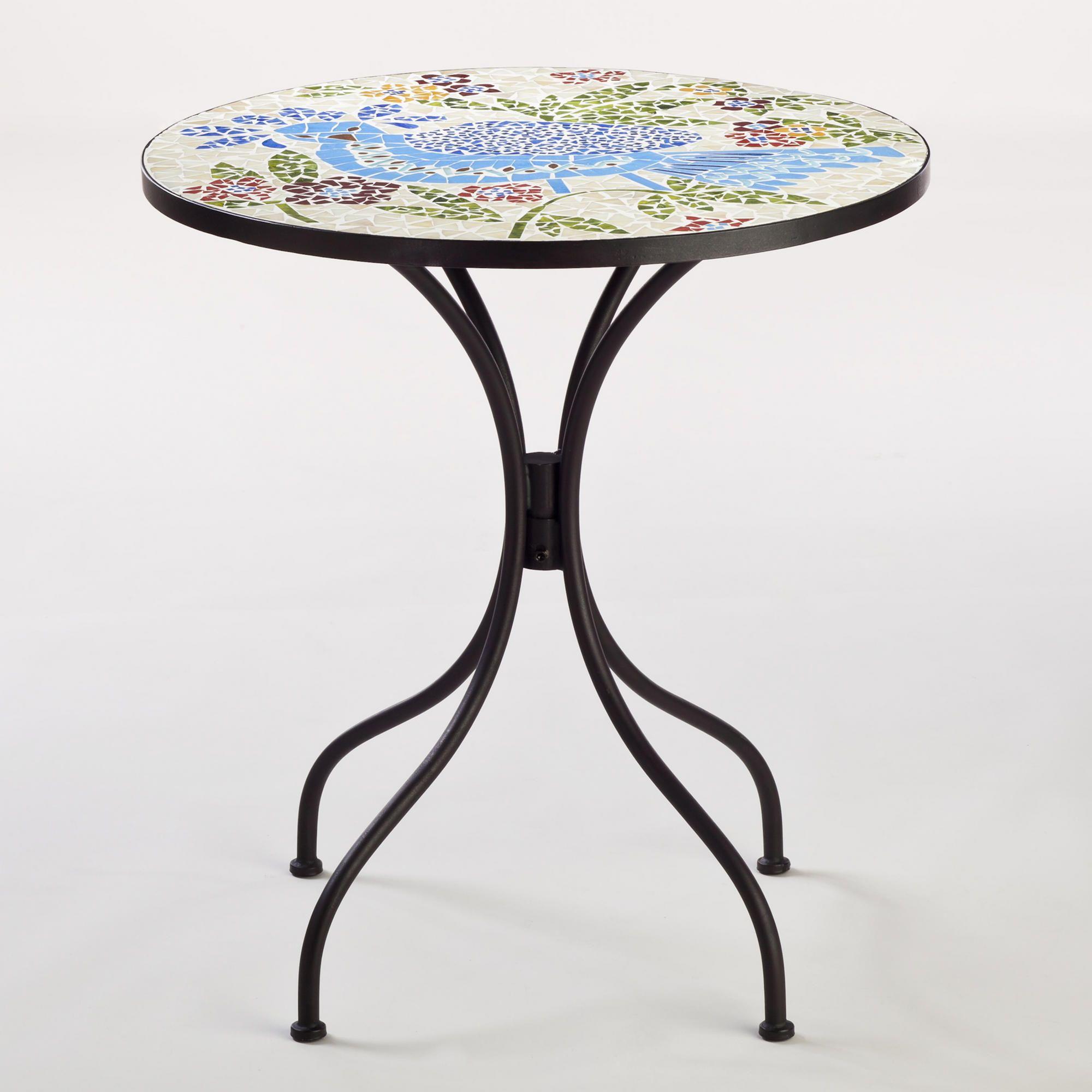 Rio Bird Cadiz Mosaic Bistro Table | World Market