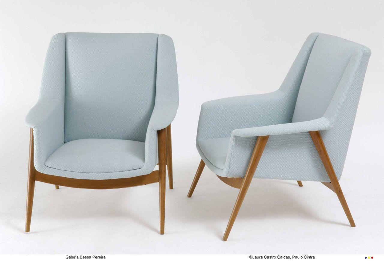 Jos espinho cadeir o de repouso anos 1950 design for Mobilia anos 50