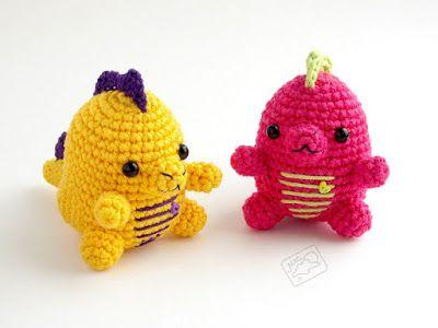 Динозаврик амигуруми   AmiguRoom   Crochet Amigurumi & Dolls   Pinterest