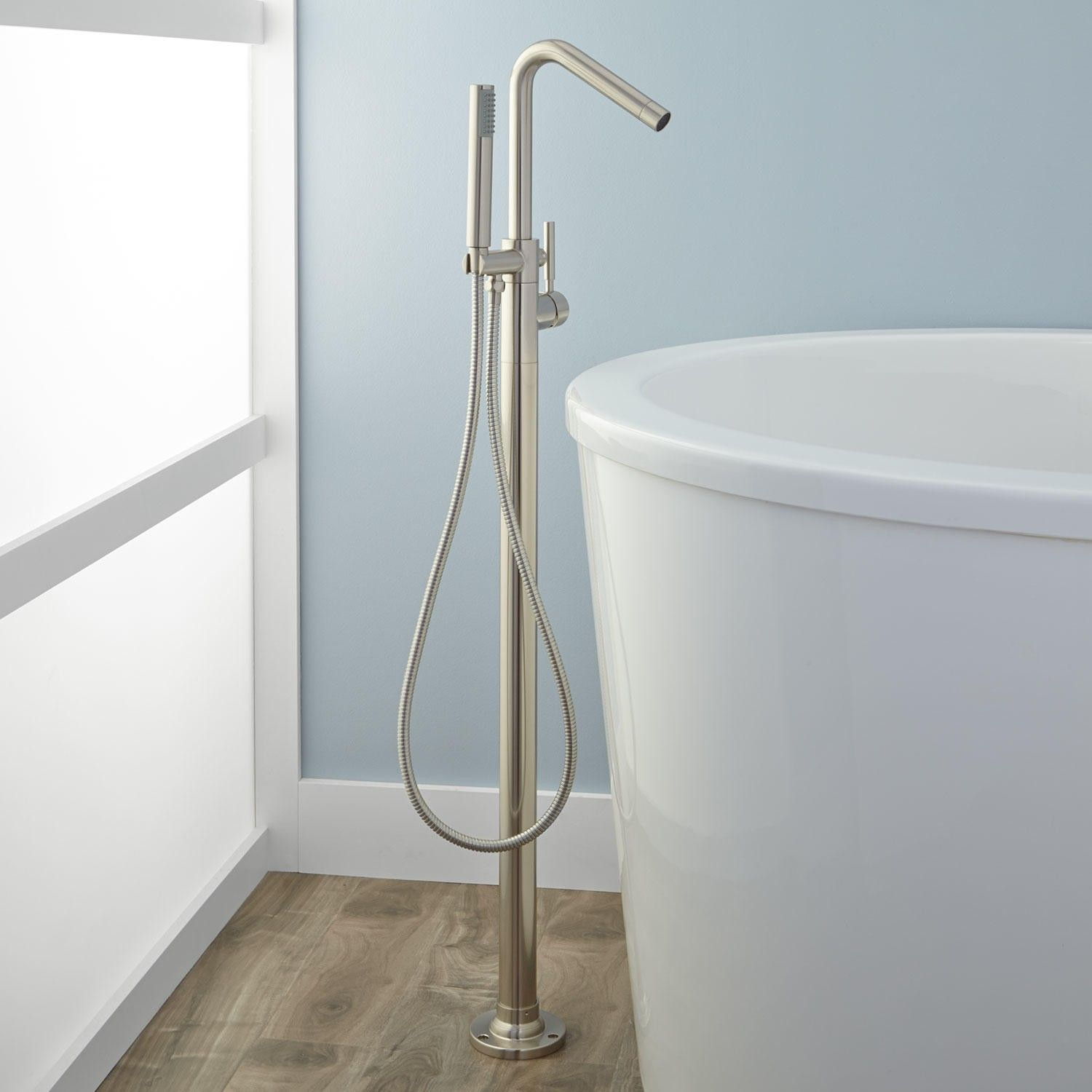 Cavalier Freestanding Tub Faucet and Hand Shower | Freestanding tub ...