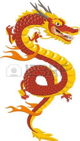 Dragon Chino Dragón Chino Tradicional Cultura Ilustración