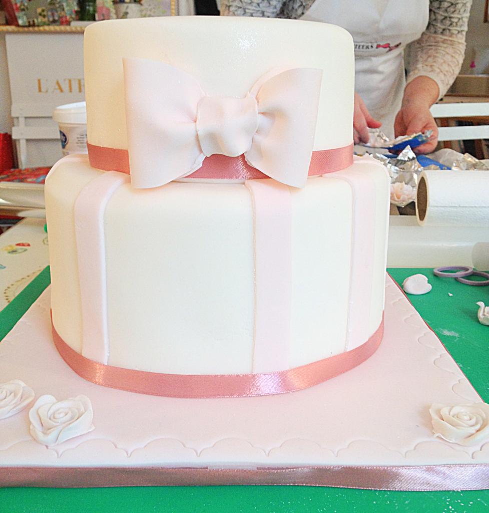 DIY gateau de mariage: Atelier wedding cake
