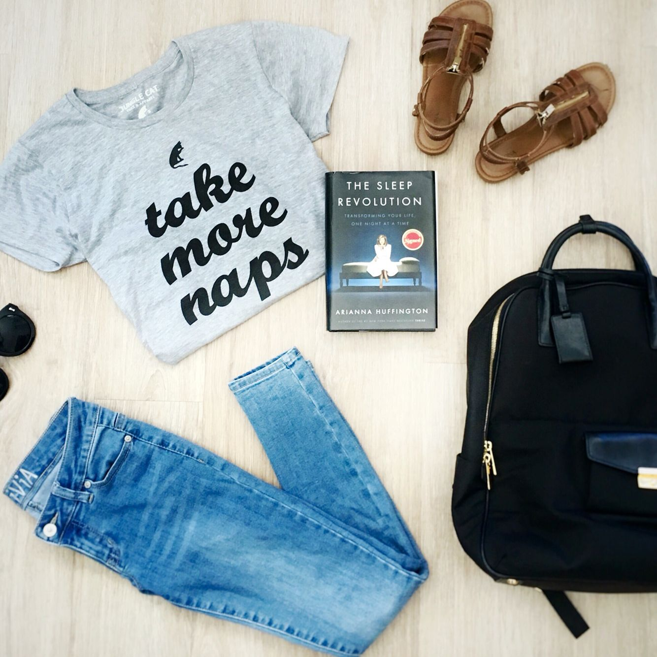 """Love this super soft """"Take More Naps"""" tee!! Goes with everything. Part of every order goes to support pet shelters!"""