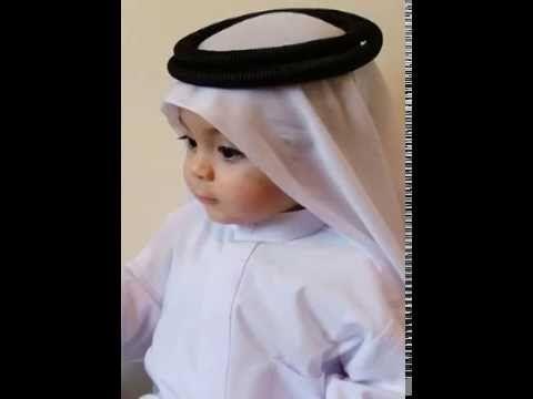 cute baby learning dua