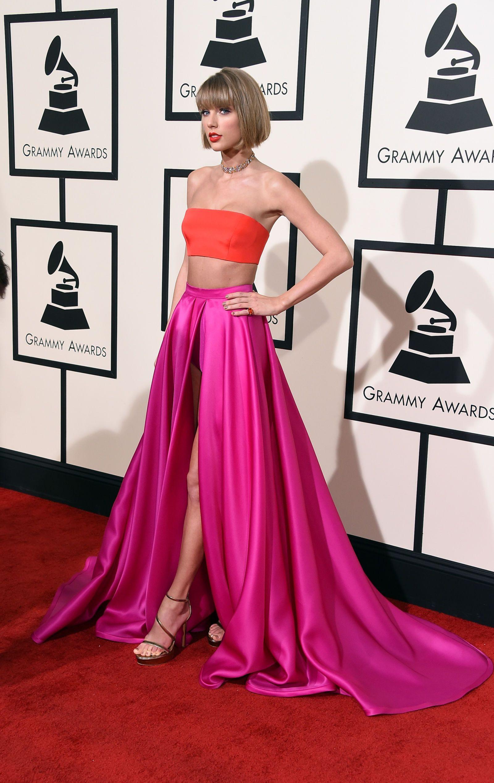 The Best Red Carpet Looks from the 2016 Grammys | Trajes de fiesta ...