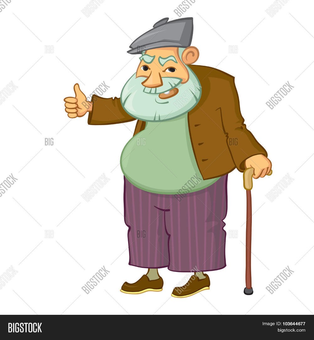 Old Man Vektoru Ucretsiz Deneme Bigstock Man Vector Vector Free Old Men