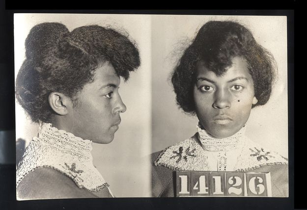 Vintage Bad Girl Mugshots Vintage History And Black History - 15 vintage bad girl mugshots from between the 1940s and 1960s