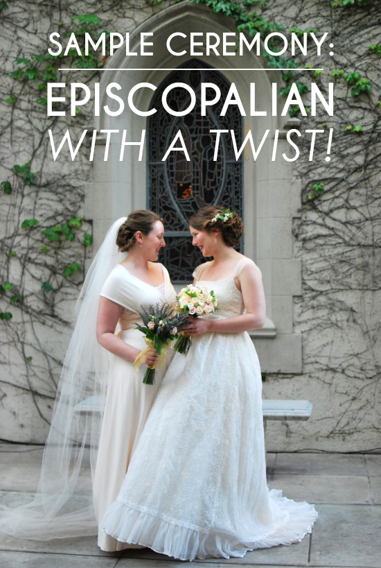 Sample Wedding Ceremony Episcopalian With A Personal Twist