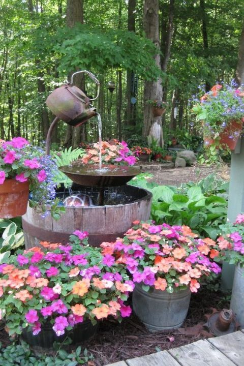 Garden Fountain Kits
