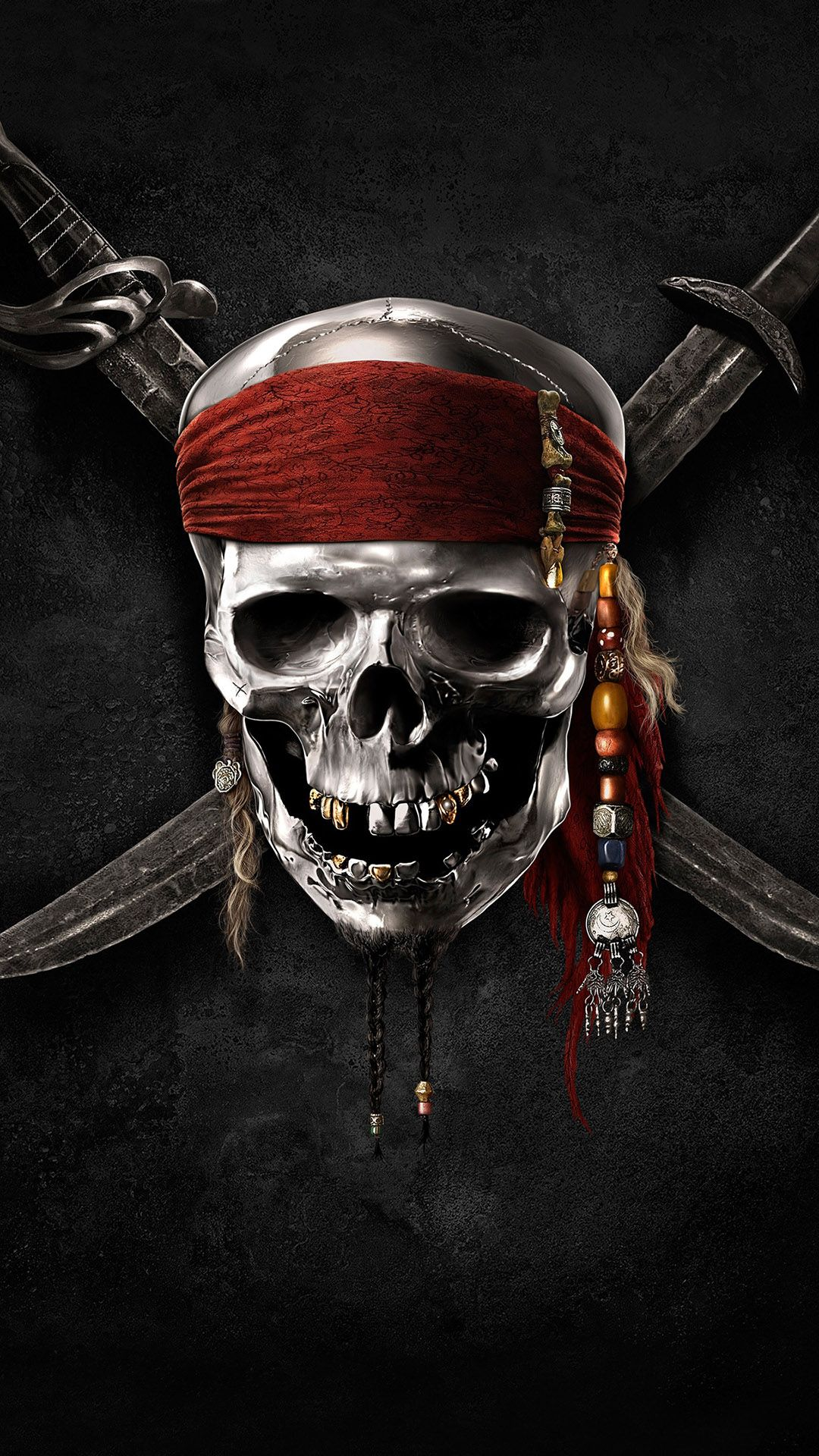 Image For Mobile Black Pirates Hd Android Wallpaper For Mobile Pirates Of The Caribbean Pirates Pirate Skull