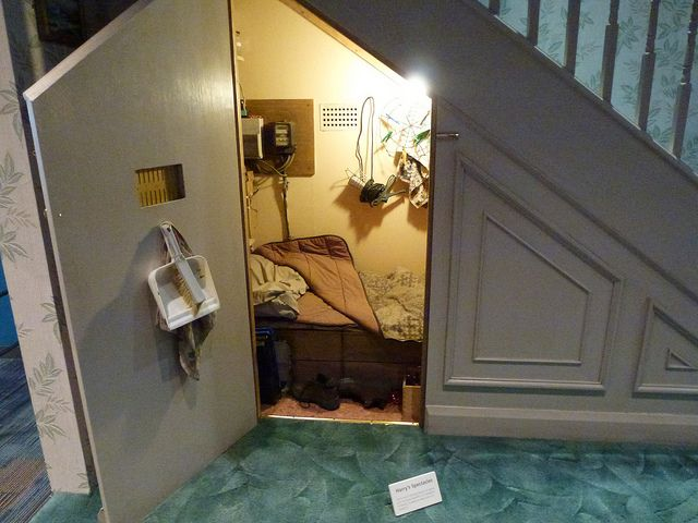 Under Stairs Bathroom Decorating Ideas harry's room under the stairs: harry potter tour warner bros