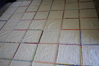 Quilt-As-You-Go Process - A tutorial -Looks like a good way to machine quilt a large quilt