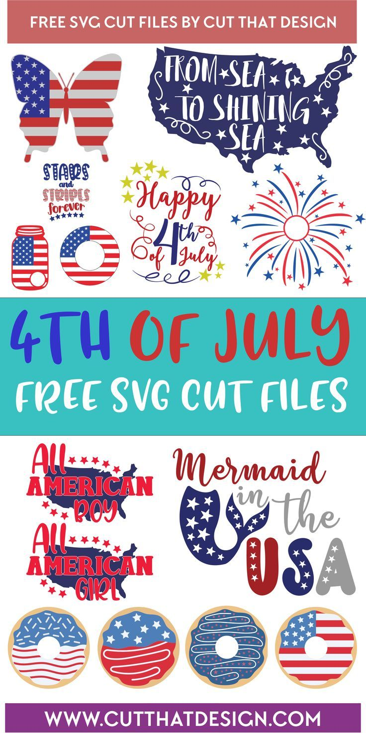 Download 4th of July SVG Files | Cricut crafts, 4th of july