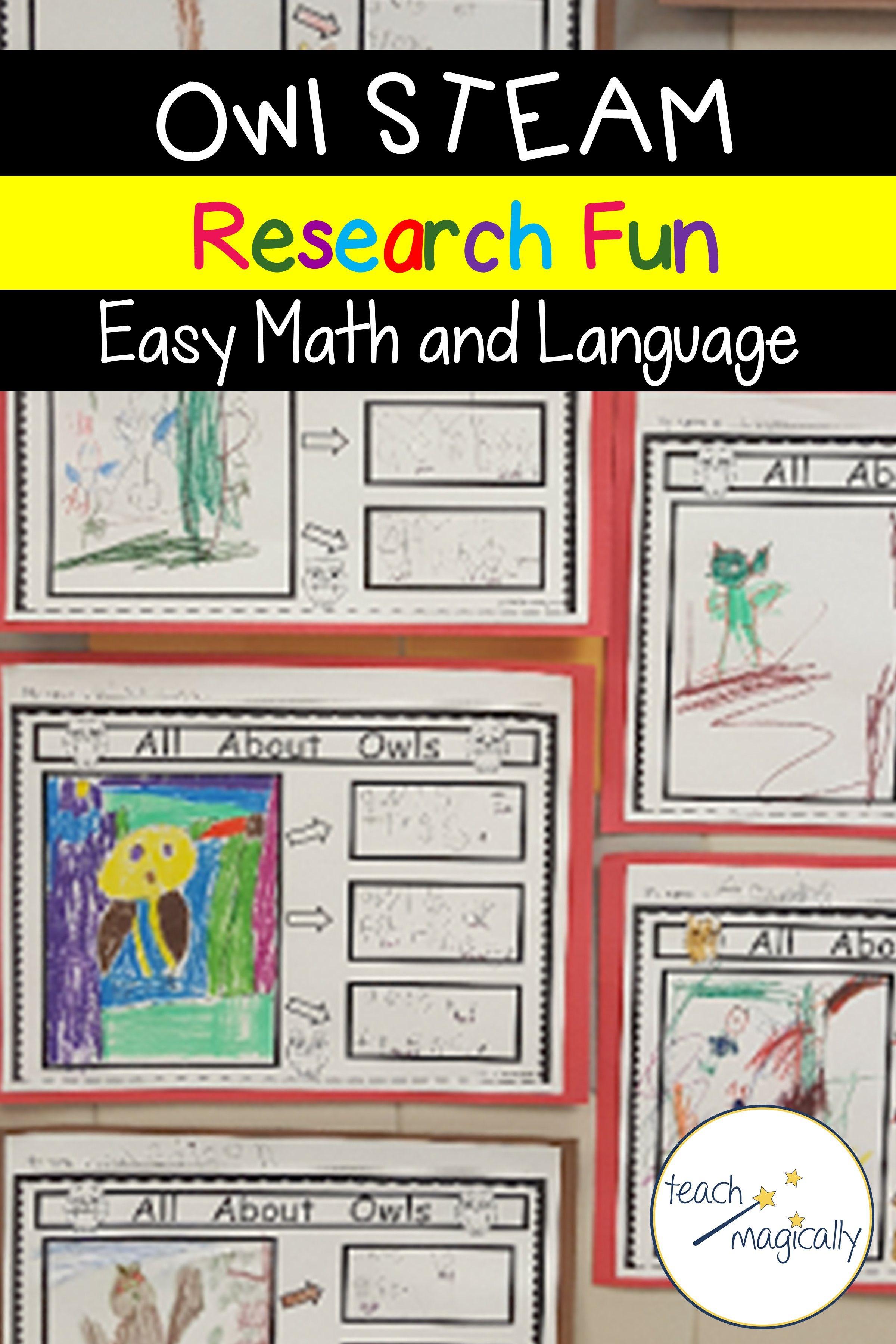 Owl Language And Math