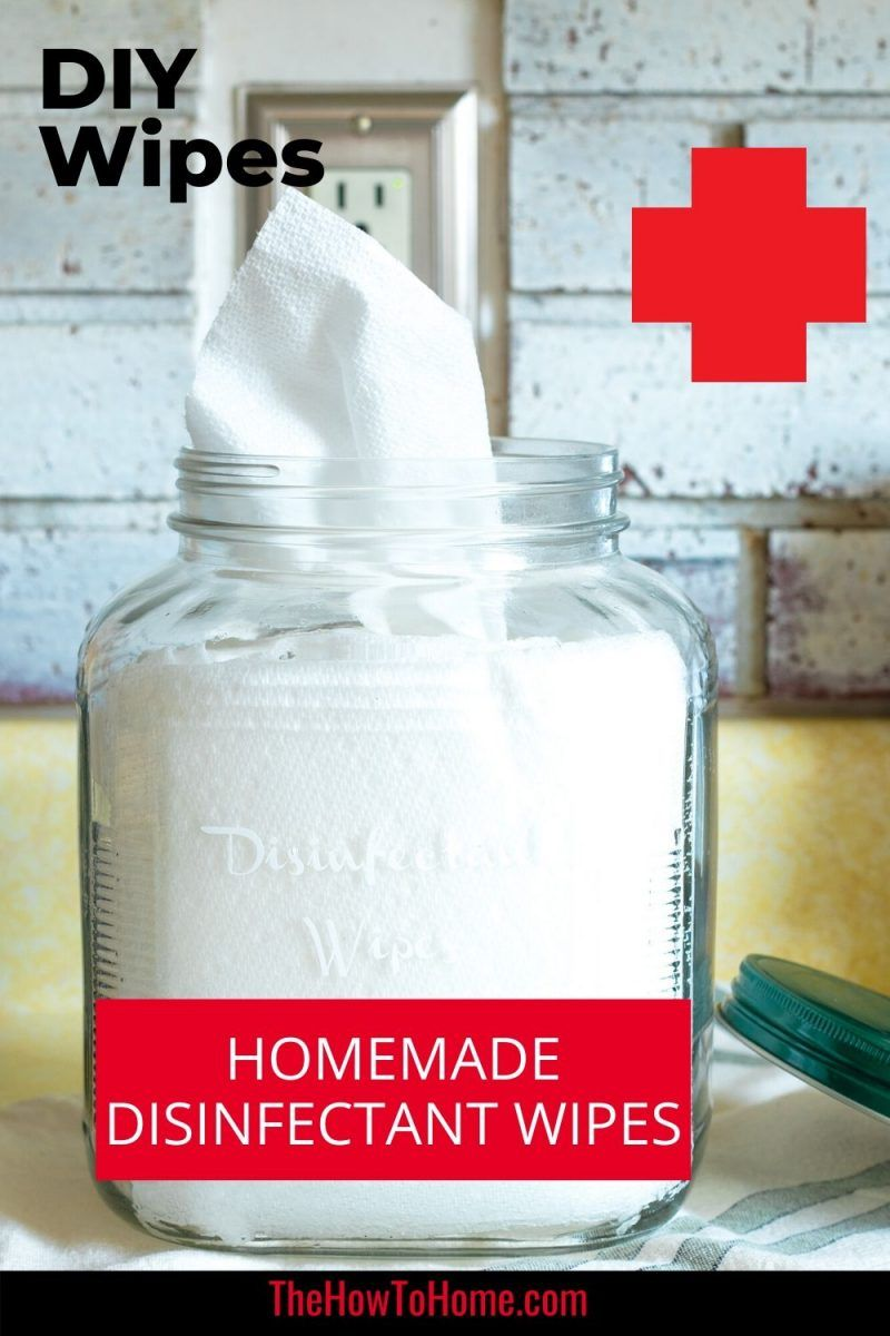 HOMEMADE LYSOL WIPES (HOW TO MAKE YOUR OWN DISINFECTANT