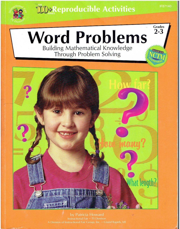 Instructional Fair Word Problems Grades 2 3 Isbn