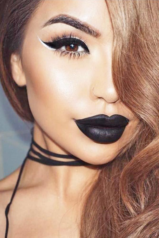 How To Wear Black Lipstick And Not Look Like A Goth