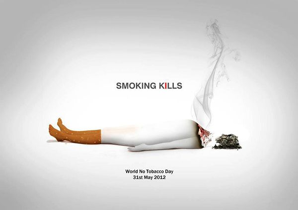 Pin by Vicks on Smoking | Creative advertising, Anti ...