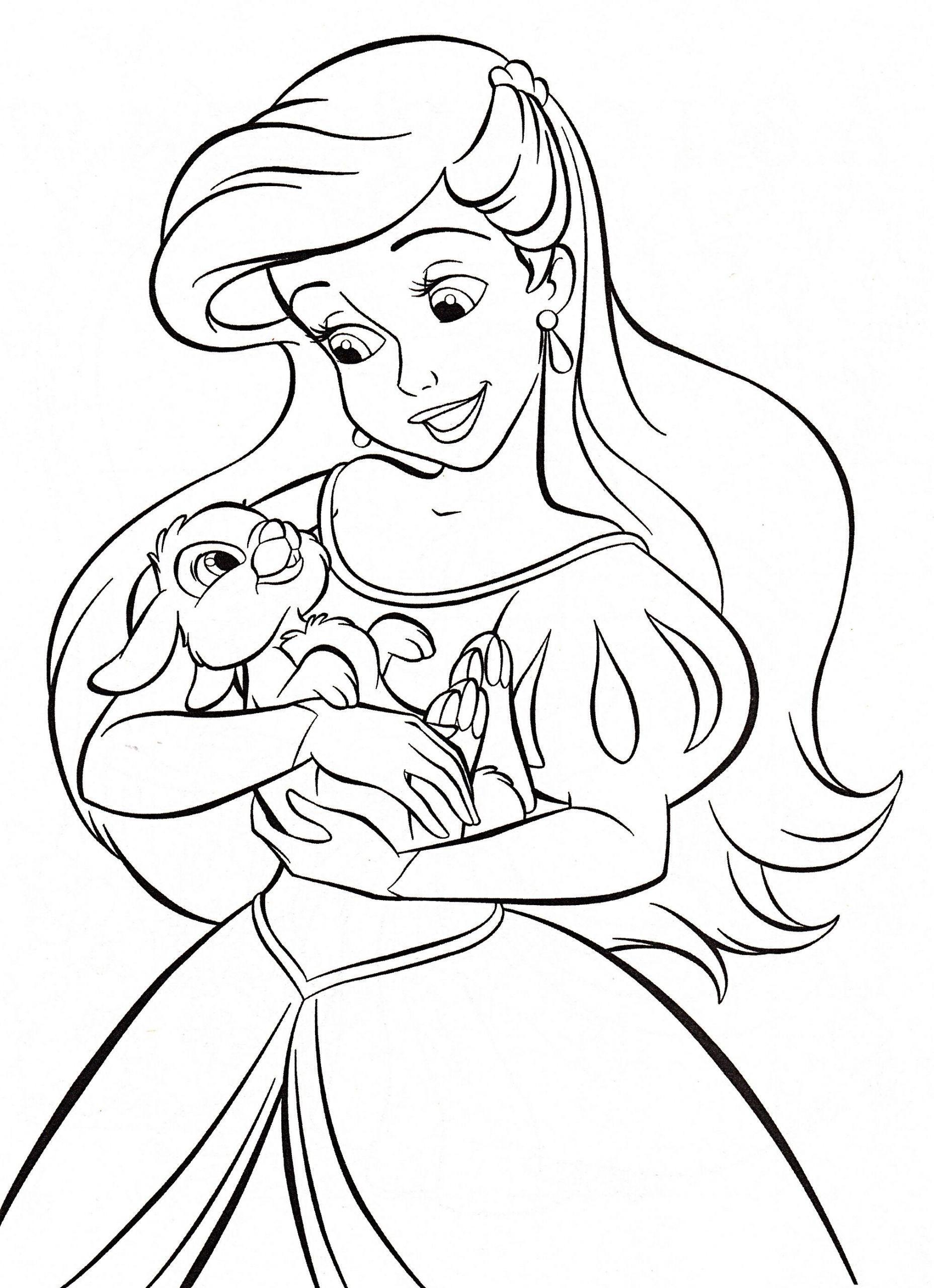 3 Disney Characters Online Coloring Walt Disney Coloring Pages Princess Ariel Walt Disney Coloriage Coloriage Poney Coloriage Princesse