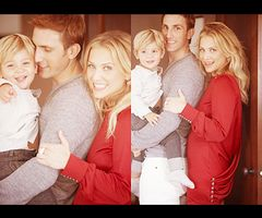 Jessica Capshaw! what a heart meltingly cute pic!! husband ...