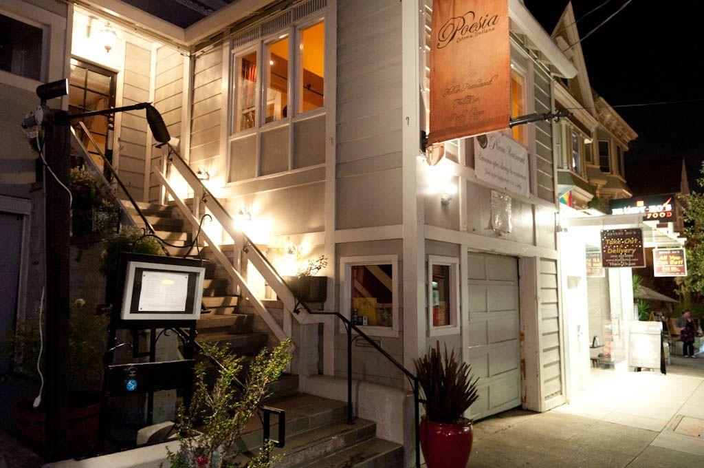 Italian Restaurant Castro San Francisco Poetry Food Full Bar Poesia