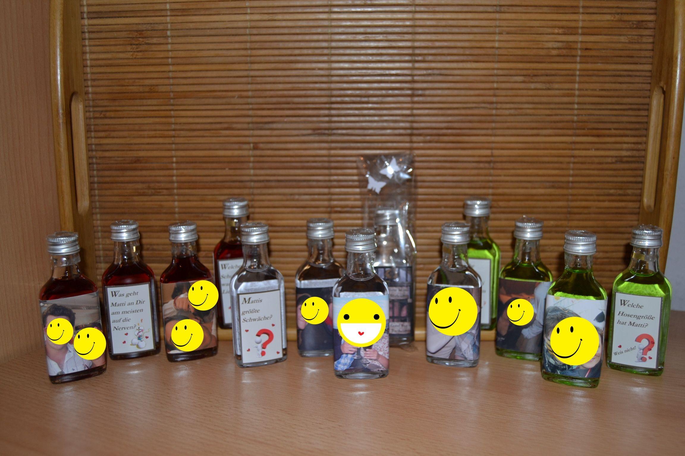 Klopfer Zum Jga Personalisierte Geschenke Geschenke Flaschen