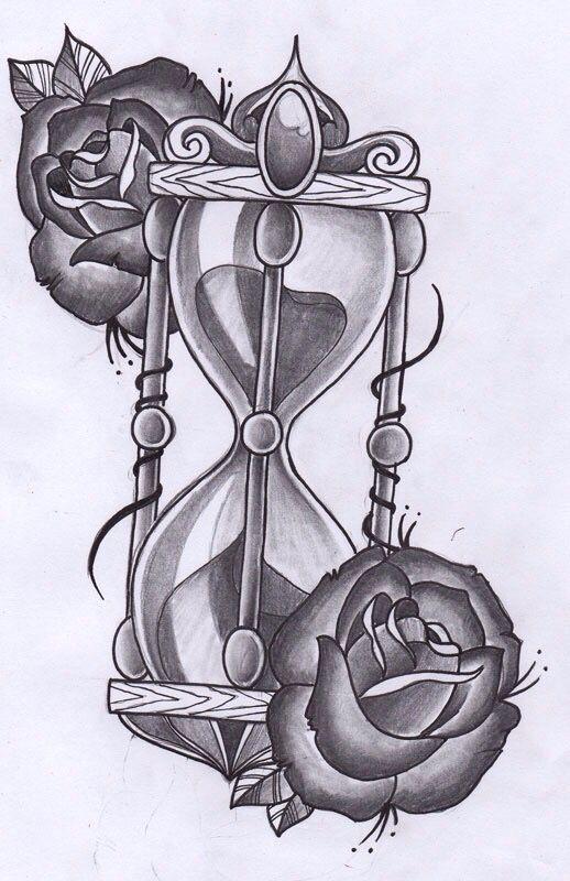 Pin De Johanice En Tatuajes Tatuaje Reloj De Arena Tatuajes De
