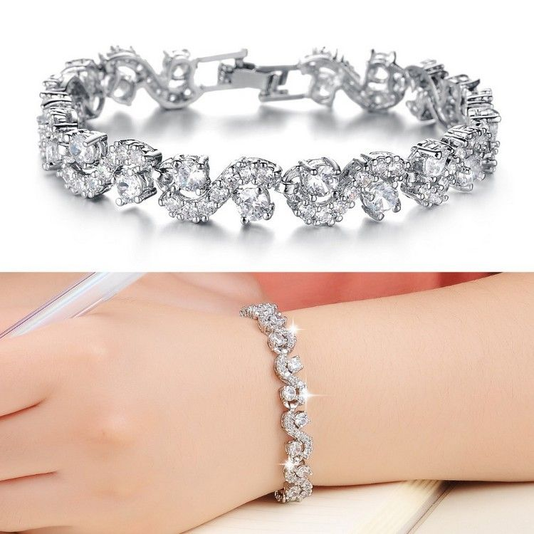 Diamond Bracelets Designs For Girls | Fashion Jewellery ...