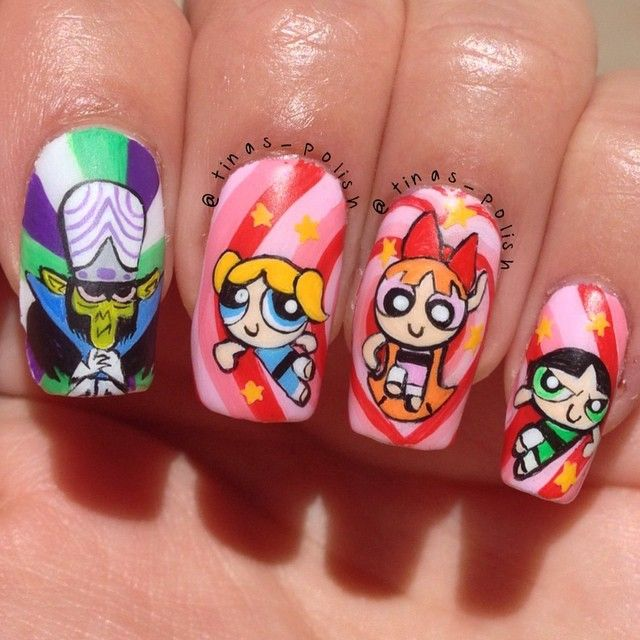 Nerdy Nail Designs: 30 Awesome Manis for Geek Goddesses | Love this ...