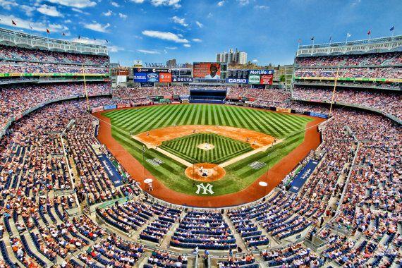 Yankee Stadium, Sports Photography, New York City, Color Photograph