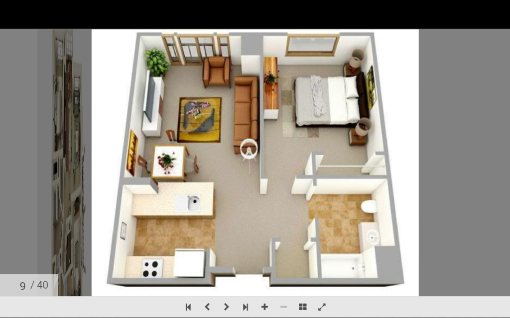 Area Planning Covers The Basic Elements Of Planning Various Areas Of A Structure And Combining Thes Small House Floor Plans One Bedroom House House Floor Plans