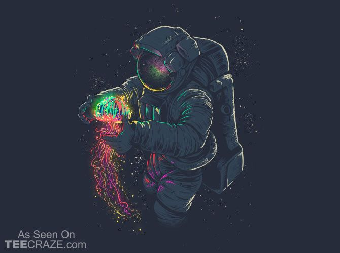 The Better Way To Dress Teecraze The Best T Shirts Ever Made Astronaut Art Space Art Art