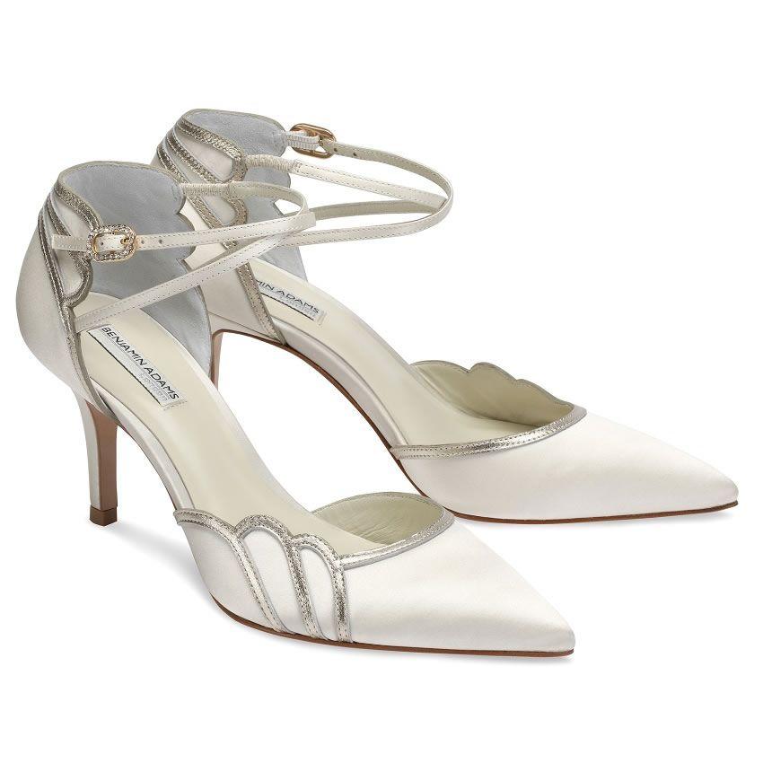 Benjamin Adams Lillian - Wedding Shoes - Crystal Bridal Accessories