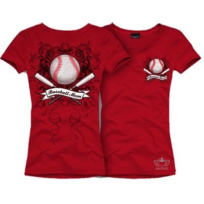 Baseball T Shirt Designs Ideas katydid black baseball mom short sleeve round neck shortsleeve fitted cotton lycra t shirt baseball mom design on front back with rhinestones made in the Baseball Mom Quote Tshirts Baseball Mom T Shirts Show Support For Your Favorite Teams