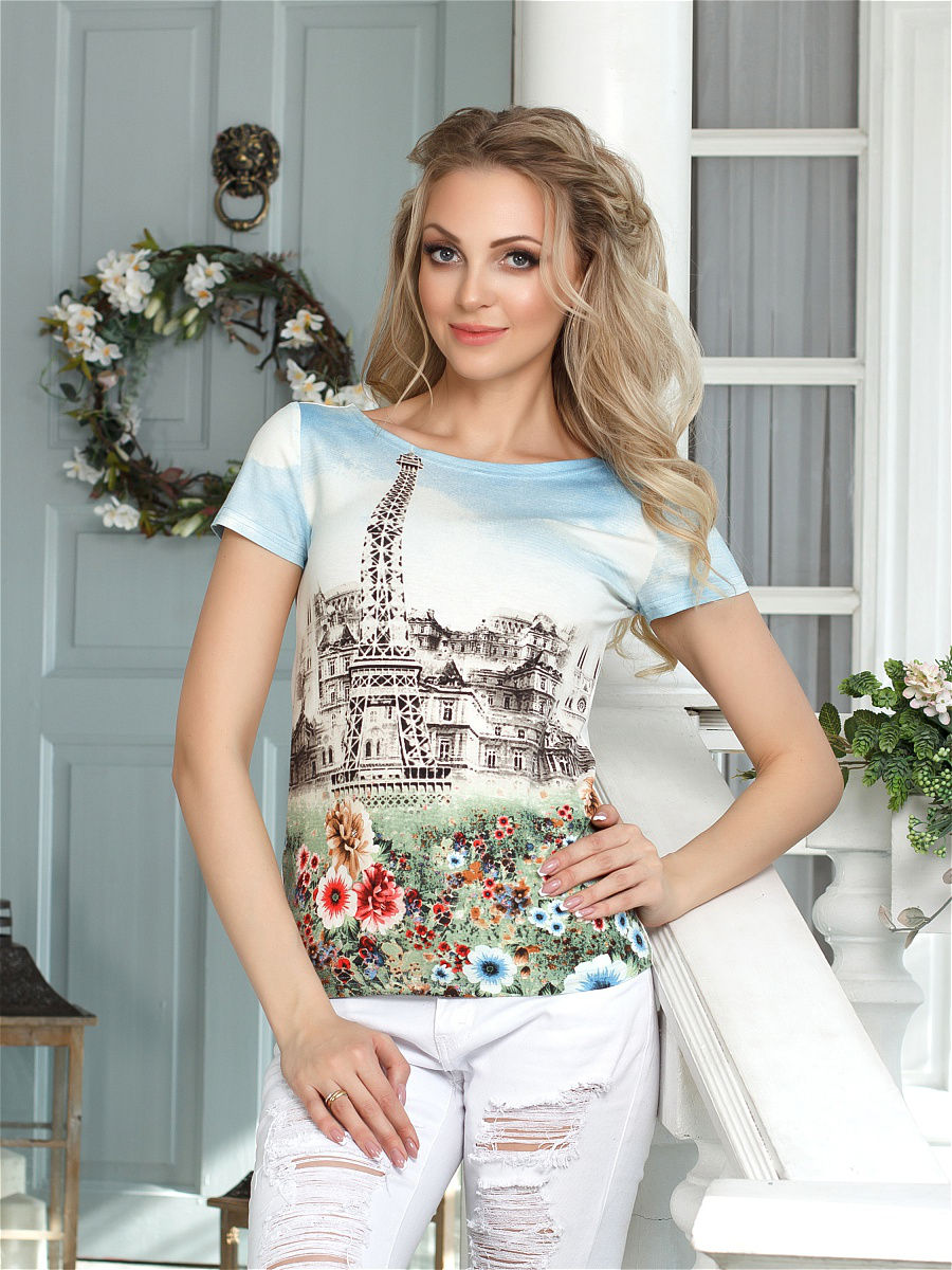 Womens Casual Top One Day Print Scoop Neck Cotton Party T-Shirt Sizes 8-14 B11