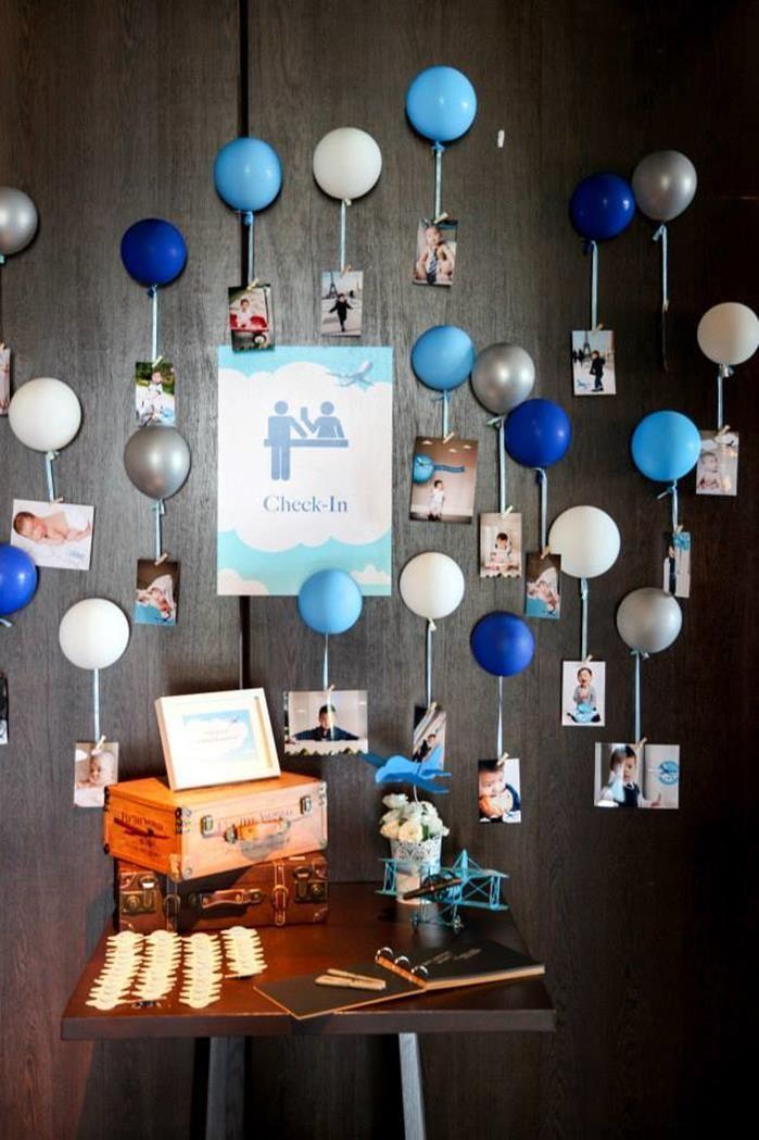 Photo of Flugzeug Geburtstagsfeier Planungsideen liefert Idee Kuchen Dekorationen
