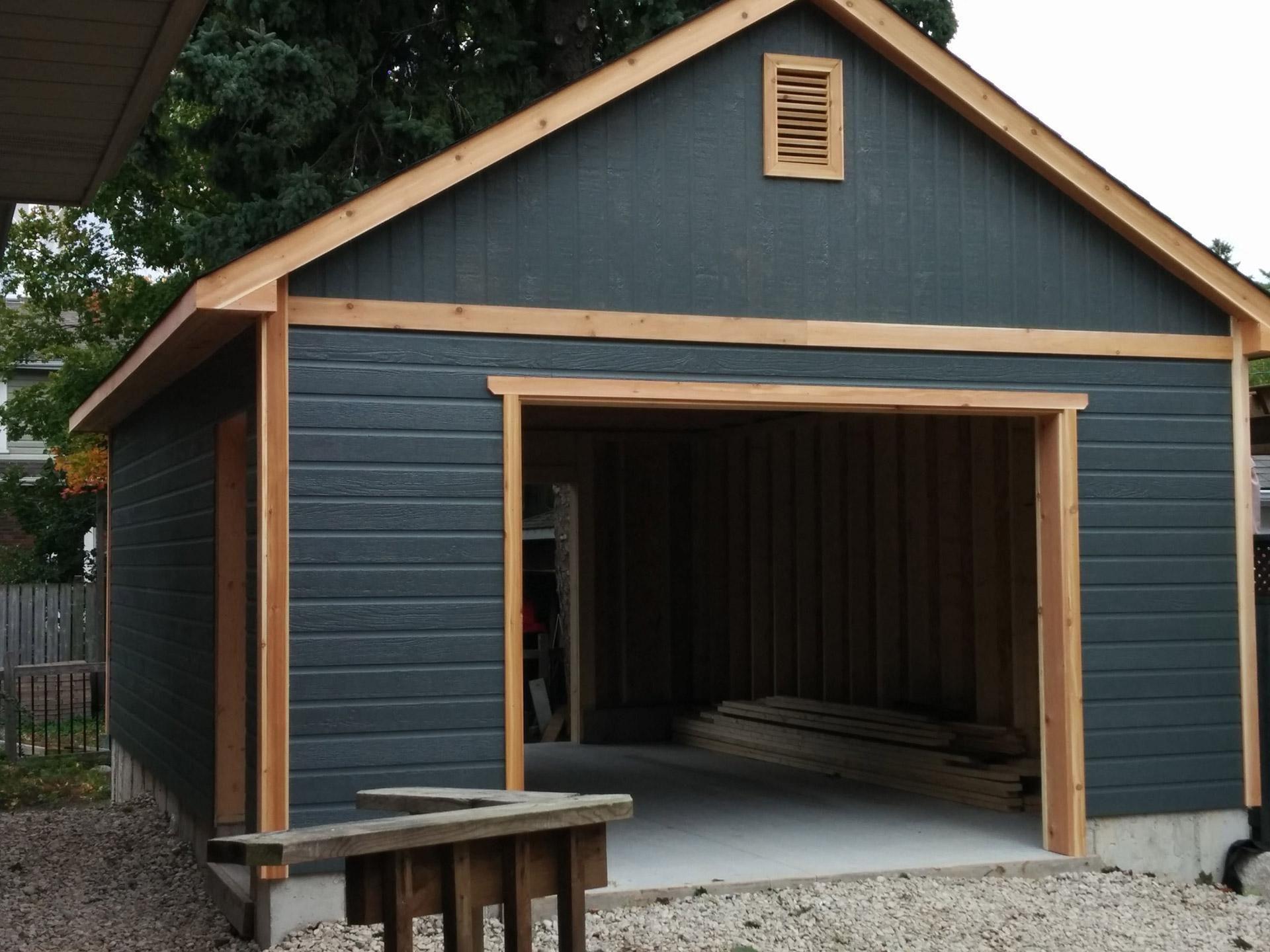 Highlands Garage Design Summerwood With Images Prefab Garages Garage Design Prefab