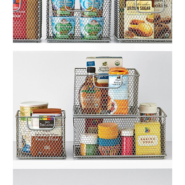 Add A Touch Of Urban Sophistication To Your Pantry Or Kitchen With Our Omaha  Stacking Bins