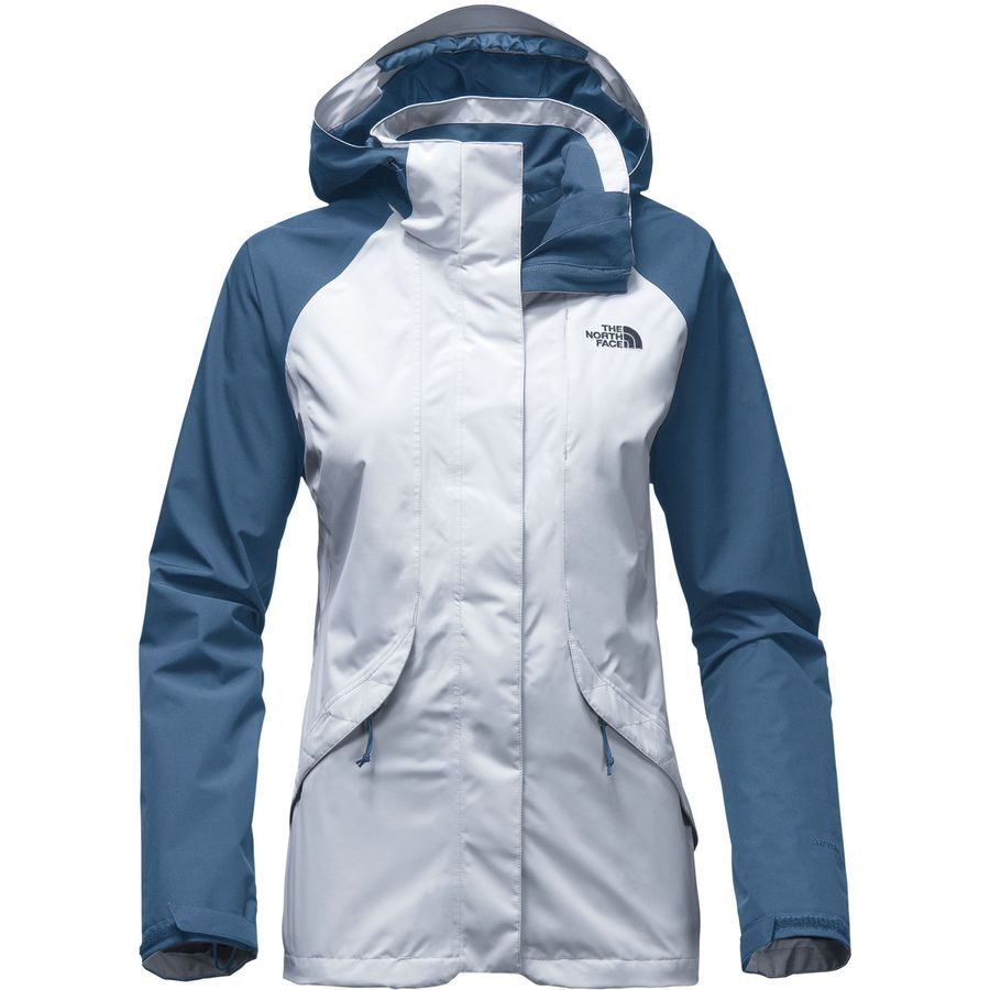 1ac2d3b309d8 The North Face - Boundary Triclimate Hooded Jacket - Women s - Arctic Ice  Blue Shady Blue
