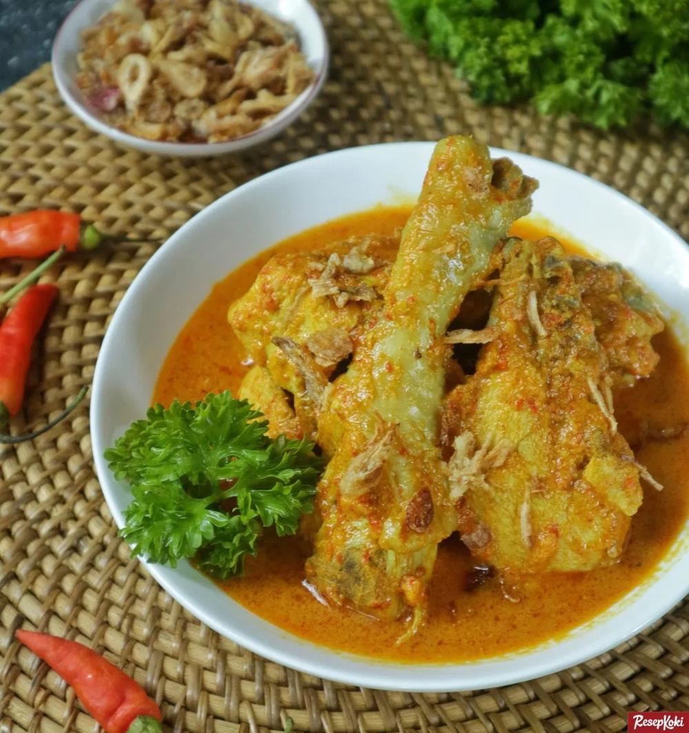 Ayam Kare Jawa Bumbu Sedap Dan Mudah Dibuat Resep Resepkoki Resep Di 2020 Resep Ayam Kari Ayam Makan Siang