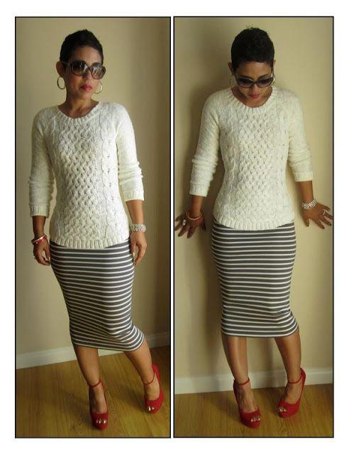 Super easy pencil skirt: 15 min. great tutorial. Summer skirts ...