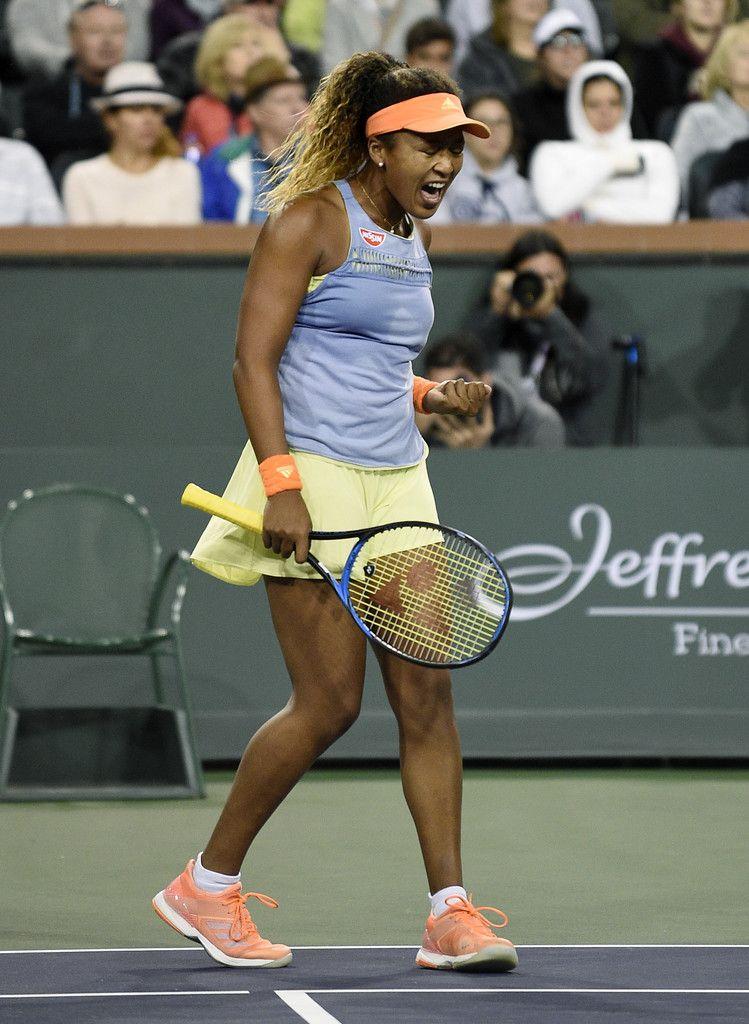 Naomi Osaka Photos Photos Bnp Paribas Open Day 12 In 2020 Tennis Players Female Female Athletes Tennis Clothes