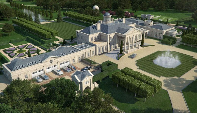 Proposed English Dream Estate On The Market East Texas